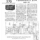 Ferranti 513 Service Schematics. Mauritron #3759