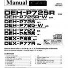Pioneer DEXP77R Service Manual. Mauritron #3970