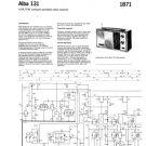 Alba 131 Service Manual. Mauritron #3998