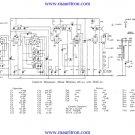 Bush AC92 Vintage Service Circuit Schematics