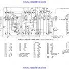 Bush DUG3 Vintage Service Circuit Schematics