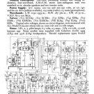 Bush SRG86 Vintage Service Circuit Schematics