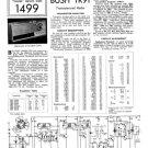 Bush TR91 Vintage Service Circuit Schematics