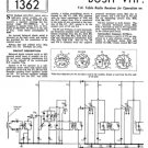 Bush VHF90A Vintage Service Circuit Schematics