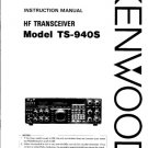 Kenwood TS940S Instructions Operating and Service