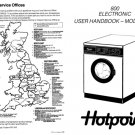 Hotpoint 9519 Washer Operating Guide