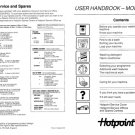 Hotpoint 9577 Washer Operating Guide