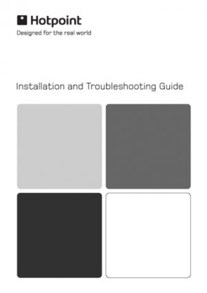 Hotpoint WF Series Washer Operating Guide