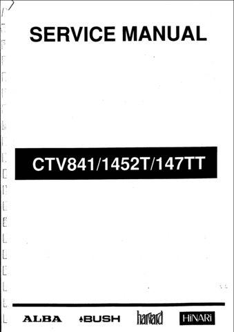 Alba 1452T Service Manual