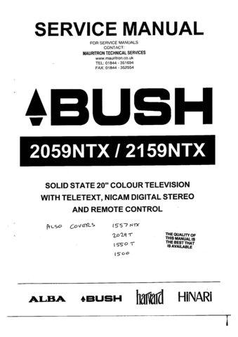Alba 2059NTX Service Manual