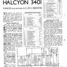 Halcyon 3401 Service Manual