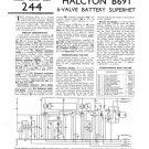 Halycon B91 B-91 Service Manual