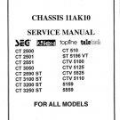 Topline CT2551 CT-2551 Service Manual