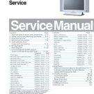Philips TPE1.1U LA Chassis Service Manual with Schematics etc