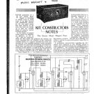 Osram 1930 Version Music Magnet 4 Schematics Circuits Service Data