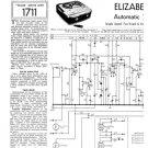 Elizabethan Automatic 2 Tape Recorder Service Sheets Schematics Set
