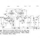 Elpico CR412 (CR-412) Car Radio Circuit Schematic Diagram Set only