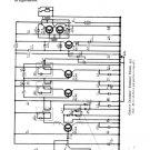 Emerson 555 Radio Service Sheets Schematics Set
