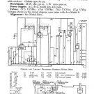 Emerson E600 (E-600) Radio Service Sheets Schematics Set