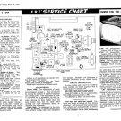 Emerson E701 (E-701) Portorama TV Service Sheets Schematics Set