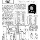 Etronic EMU4214 (EMU-4214) Midgetronic RX Service Sheets Schematics Set