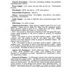 Etronic ETA521 (ETA-521) Radio Service Sheets Schematics Set