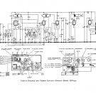 Etronic QGA532 (QGA-532) Radio Circuit Schematic Diagram Set only