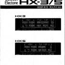 Yamaha HX5 (HX-5) Tone Generator Service Manual
