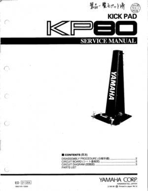 Yamaha Pcy Manual