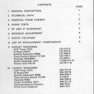 Hacker RP76 Silver Knight Service Manual Schematics