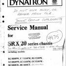 Dynatron SRX20 (SRX-20) Radiogram Service Manual