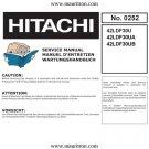 Hitachi 42LDF30UB (42-LDF30UB) Television Service Manual