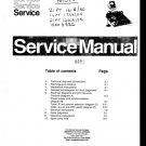 Philips 21PT166A-25 Television Service Manual
