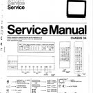Philips 33CE7533-33R Television Service Manual