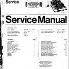 Philips CP110 (CP-110) Chassis Television Service Manual