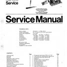 Philips CTX-E Chassis Television Service Manual