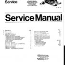 Philips G110 (G-110) Chassis Television Service Manual