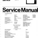 Philips TVC15 (TVC-15) Chassis Television Service Manual