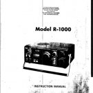 Kenwood R1000 (R-1000) Receiver Service Manual