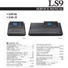 Yamaha LS9-16 (LS-9-16) Mixing Console Service Manual