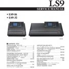 Yamaha LS9-32 (LS-9-32) Mixing Console Service Manual