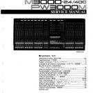 Yamaha M3000-40C (M-3000-40C) Mixing Console Service Manual