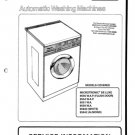 Hotpoint Microtronic De Luxe 9550W Washing Machine Service Manual