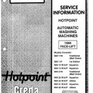 Hotpoint WM23W (WM-23W) Ultima Washing Machine Service Manual