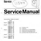 Philips 052 PH Washing Machine Service Manual