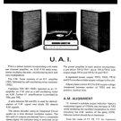 Fidelity UA1 (UA-1) Record Player Service Sheets Schematics Set