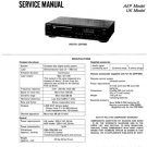 Sony CDP550 (CDP-550) CD Player Service Manual
