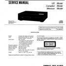 Sony CDPC221 (CDP-C221) (CDPC-221) CD Player Service Manual