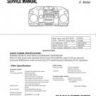 Sony CFD510 (CFD-510) MS Service Manual