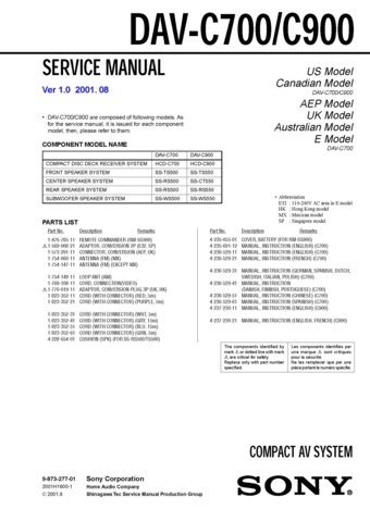 hunter system 700 service manual
